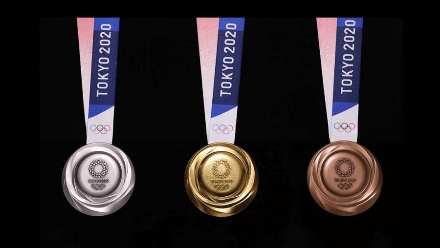 Les medailles des Jeux Olympiques de Tokyo 2020